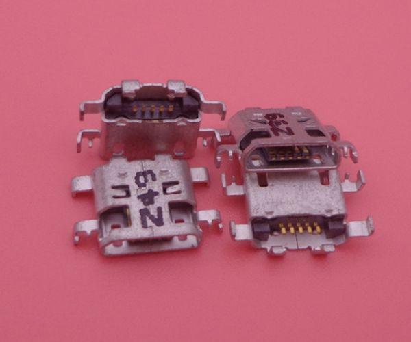 20pcs/lot For Xperia M2 Aqua D2303 D2403 D2406 D2302 Micro USB Connector Charging Dock Connector Port plug socket