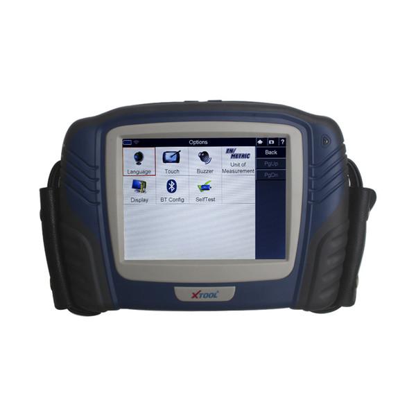 Блок развертки диагностического инструмента тележки Xtool PS2 HD профессиональный сверхмощный автомобильный OBD2 с новой версией Bluetooth он-лайн
