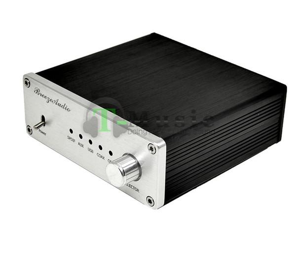 Freeshipping Recommend - TOP Audio DAC AK4490 + AK4118 + XMOS USB DAC Decoder Support Coaxial / Optical / USB Input W/ DC12V Power supply