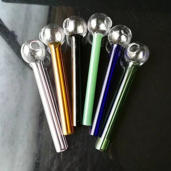 Accessori per fumatori Elica in tubo di vetro, Bong in vetro Accessori Bruciatore a olio unico Tubi di vetro Tubi di acqua Tubo di olio Rigs di olio Fumo con Dro