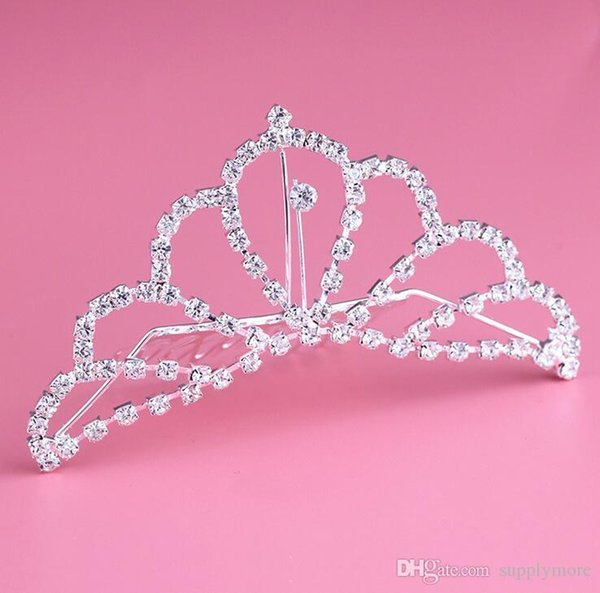 Crystals Rhinestone Bridal Tiaras Crowns Charm Wedding Jewelry Girls Christmas Evening Prom Homecoming Party Hairband Hair Crown Accessories