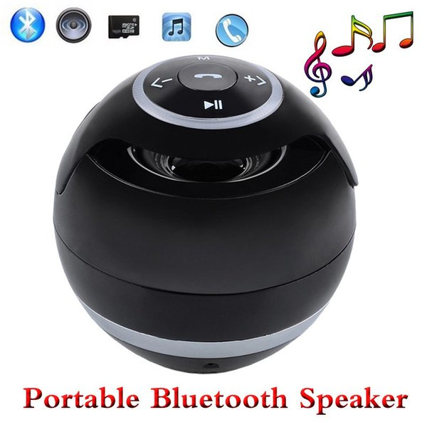 YST-175 Mini Bluetooth Wireless Speaker Ball Portable Outdoor Sports Speakers Super Bass Stereo Handsfree Subwoofer With Mic TF Card Radio