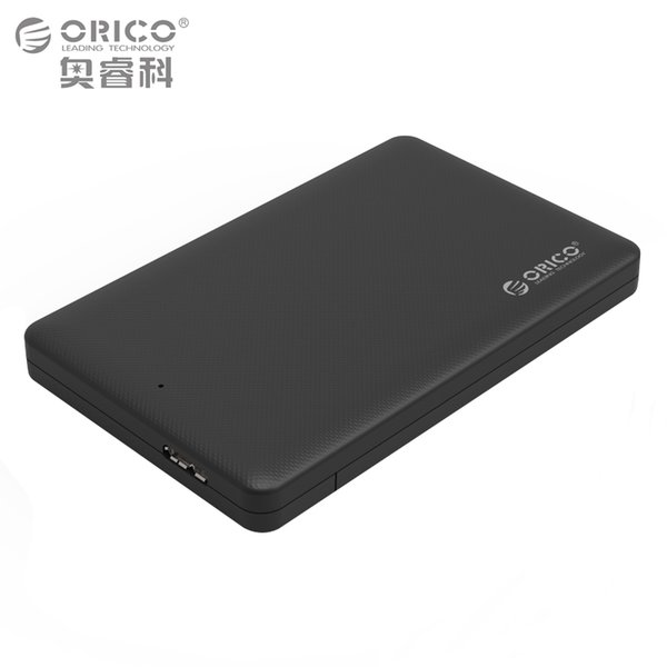 Wholesale- 2.5 HDD Enclosure,ORICO Sata to USB 3.0 HDD Case Tool Free for for 7mm/9.5mm 2.5 inch HDD and SSD Up to 2TB Supported (2577U3)