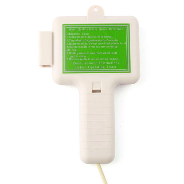 2016 Nouvelle Vente Chaude Portable Qualité De L'eau PH CL2 Testeur de Chlore Niveau Mètre PH Testeur pour Piscine Spa Livraison Gratuite