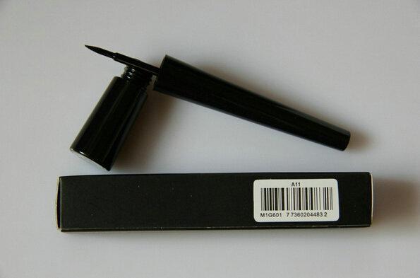 Venta al por mayor - el trazador de líneas del color del negro del color de Selena Eyeliner del maquillaje impermeable de la nueva marca compone el envío libre 24pcs / lot