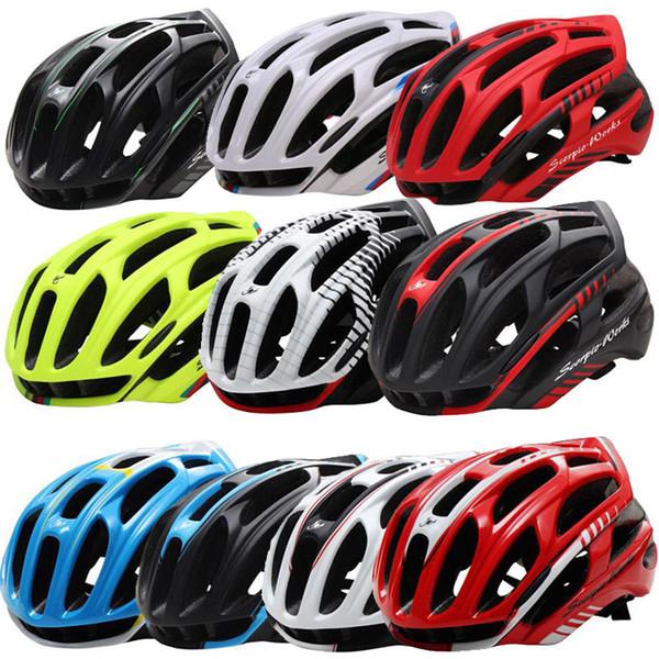 Gros-Scorpion Works Casque De Vélo Road Mountain In-mold Casque De Vélo Ultralight Bike Helmet 4D Taille M L Casques De Vélo