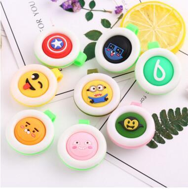 top popular Baby Pregnant Anti-mosquito Button Cute Animal Cartoon Mosquito Repellent Clip Buckle Non-toxic Mosquito Repellent Buckle Pest Control 2019
