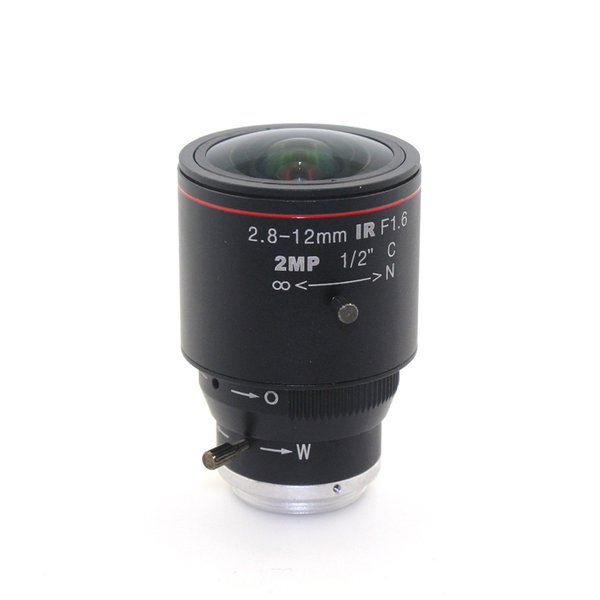 "2MP HD 2.8-12mm cctv lens C Mount Manual Focal IR 1/2"" 1:1.4 for Security CCTV Camera IP Camera"