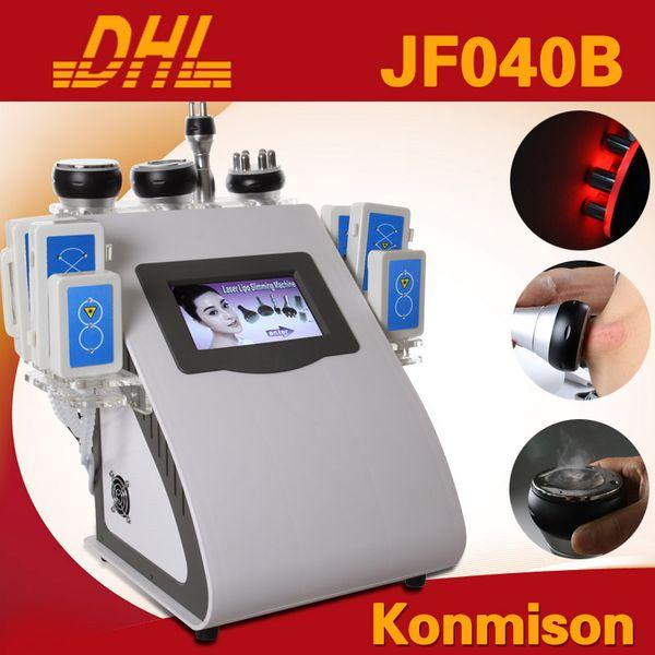 Ultrasonic Liposuction Cavitation RF Vacuum Lipo Laser Slimming Weight Loss Machine For Body Shaping Wrinkle Removal