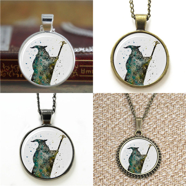 10pcs Gandalf The Lord of the Art Print you shall not pass Glass Photo Necklace keyring bookmark cufflink earring bracelet