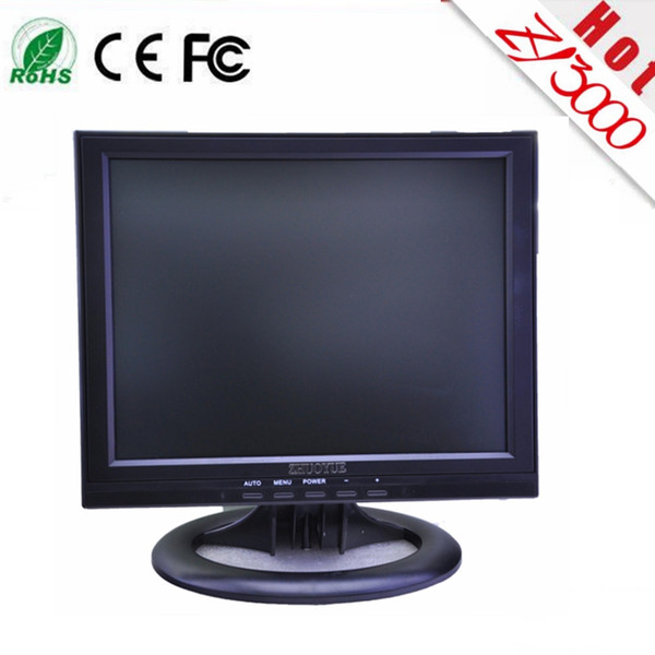 best selling new wholesale 12 inch 4:3 1024*768 LED touch screen monitor have DVI VGA USB input for PC ,warranty 1 year