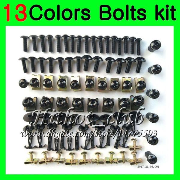 Kit completo de tornillos de carenado Para HONDA NSR125R 87 88 89 90 91 92 93 94 95 96 97 98 99 00 NSR125 R0 Tuercas de cuerpo tornillos tuercas kit de tornillos 13Colores