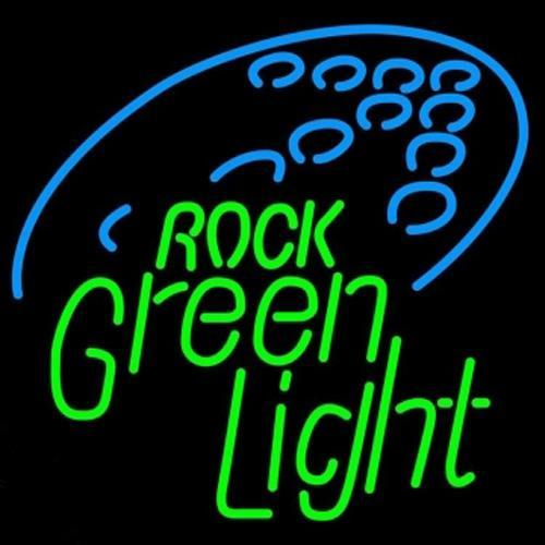 "Rolling Rock Green Light Neon Sign Custom Handmade Real Glass Store Bar KTV Club Motel Party Display Decorataion Art Neon Signs 14""X17"""