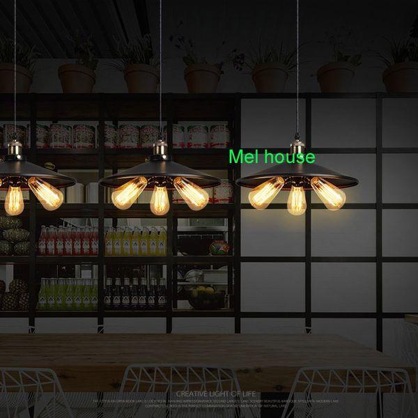 Großhandel Vintage Edison Pendelleuchte Retro Edison Pendelleuchte Art Deco  Restaurant Bar Pendelleuchten Industriebeleuchtung Küche Arbeitszimmer ...