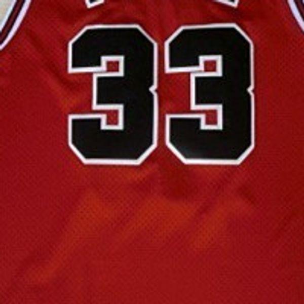 33 # Jersey vermelho