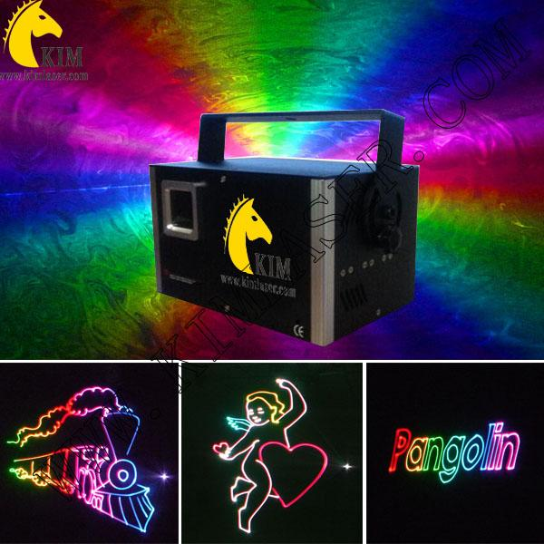 SD card&1.2 W RGB analog laser beam and animation stage laser light for dj/pub/party/club lighting