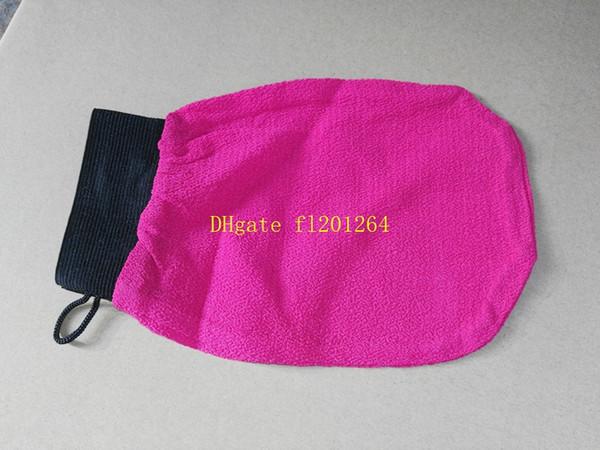 best selling 50pcs lot Free shipping Wholesale hammam scrub mitt magic peeling glove exfoliating bath glove morocco scrub glove