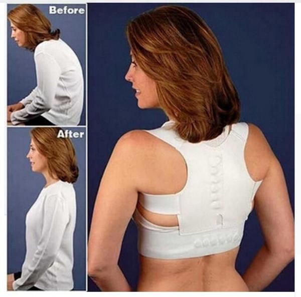 Adjustable Back Posture Corrector Corset Support Upper Shoulder Men Women Magnetic Therapy Back Pain Lumbar Belt OOA2161