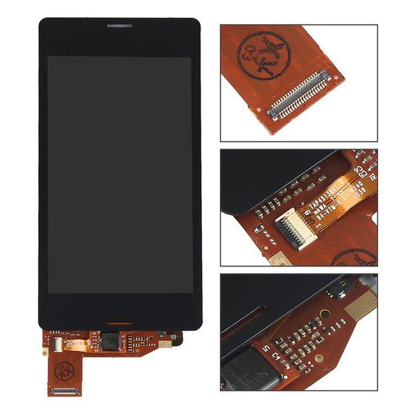 LCD Ekran Dokunmatik Digitizer Ekran Meclisi Ile Sony Xperia Z1 mini Için Z3 mini Z3 Kompakt z5 mini E5803 E5823 M51W D5503 D5803 D5833