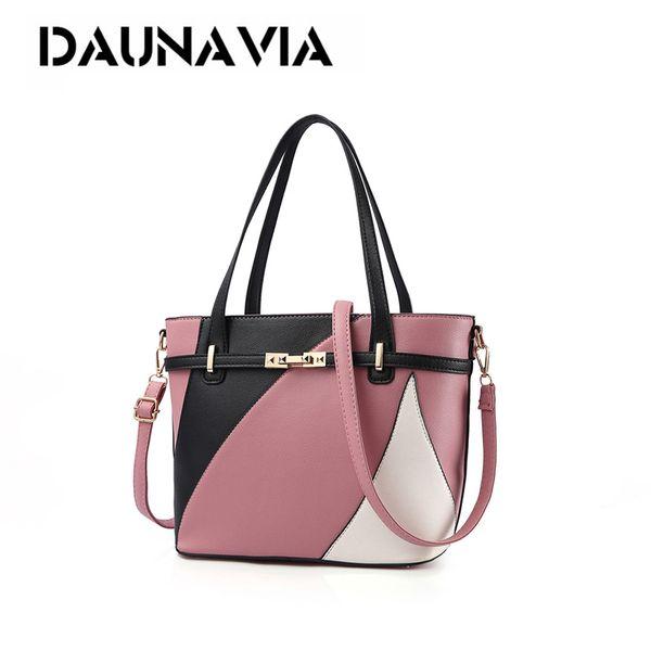 Women Handbags Shoulder Bag Casual Tote Lady Patchwork High Quality Main Ladies