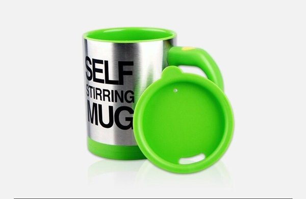2017 New Design coffee mug Creative cartoon Automatic coffee cup Electric lazy stirring water Cup bottles decoration office home