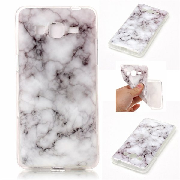 Marble Case For Samsung Galaxy Grand Prime G530/J3/J5/J7/J5 J510 2016/J7 J710 2016 TPU IMD Soft Gel Rubber Soft Back Phone Cover 10PCS
