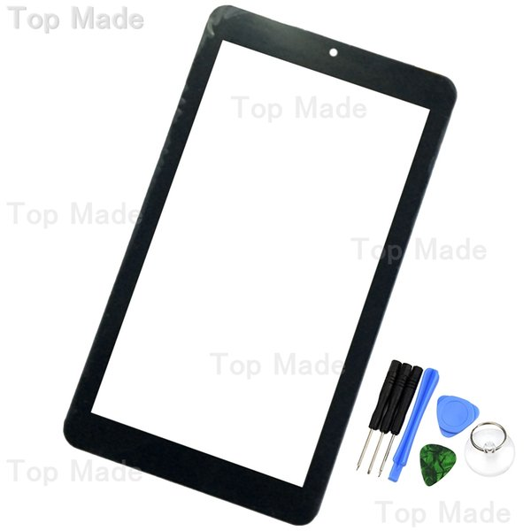 Wholesale- 7 inch Touch Screen For eSTAR BEAUTY HD QUAD CORE BLUE MID7308B tablet PC Digitizer Lens with Free Repair Tools