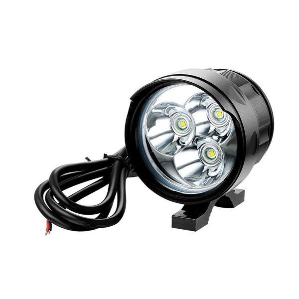 best selling high power motorcycle LED headlamps light 3pcs-18pcs T6 leds electric car headlights spotlights fog lights flashlight