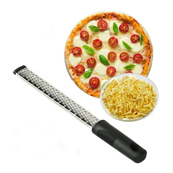 best selling Multifunctional Practical Cheese Grater Stainless Steel Lemon Zester Citrus Peeler Chocolate Fruit Grater Kitchen Tools Free Shipping ZA2928
