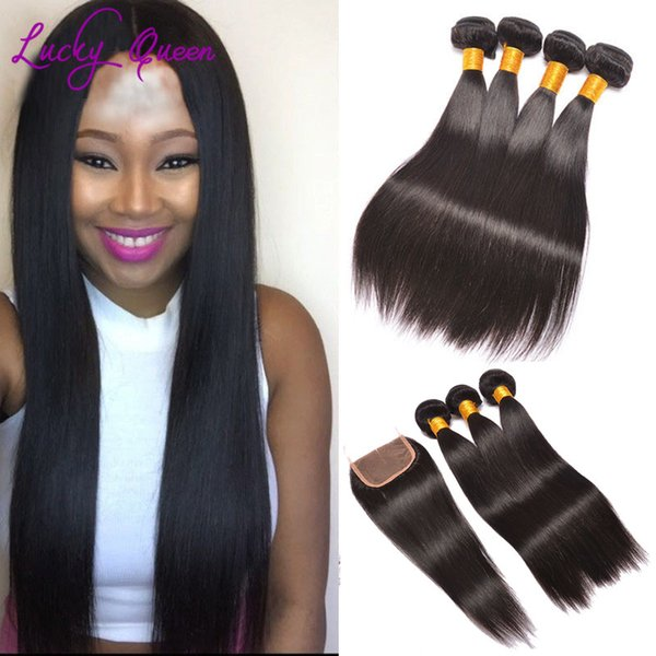 Straight Peruvian Virgin Hair With Closure Siyo Virgin Hair With Closure Peerless Peruvian Virgin Hair Straight With Closure
