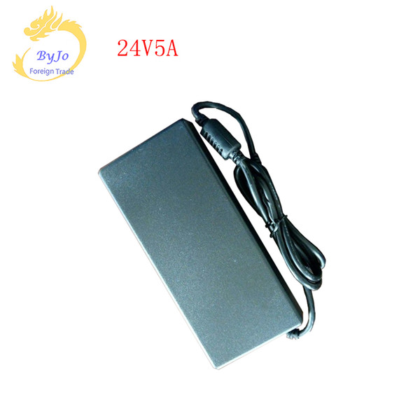 24V 5A Power Adapter Supply Charger Transformer without the High power high frequency power adapter