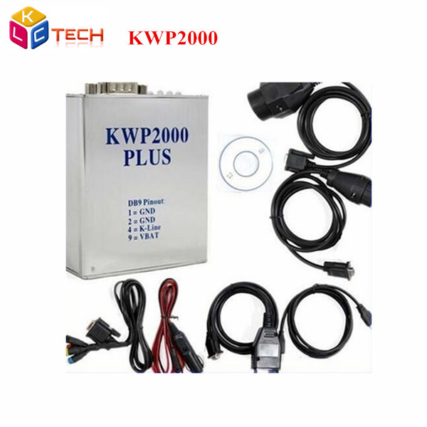 Wholesale- 10pcs/lot NEW Diagnostic Scanner KWP2000 ECU Tuning Tool OBD2 Auto Diagnostic Code Reader Scan Tool Kwp2000 plus ecu flasher