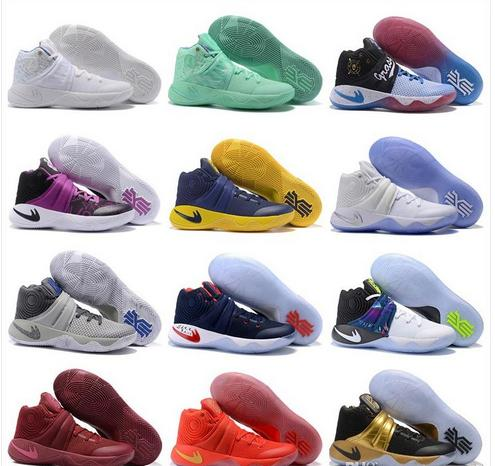 new styles 40085 e78f5 2017 Cheap Kyrie 2 II Men Basketball Shoes For Sale Sneakers New High  Quality Irving BHM Sports Shoes Size 7 12 Sneakers For Women Shoes Kids  From ...