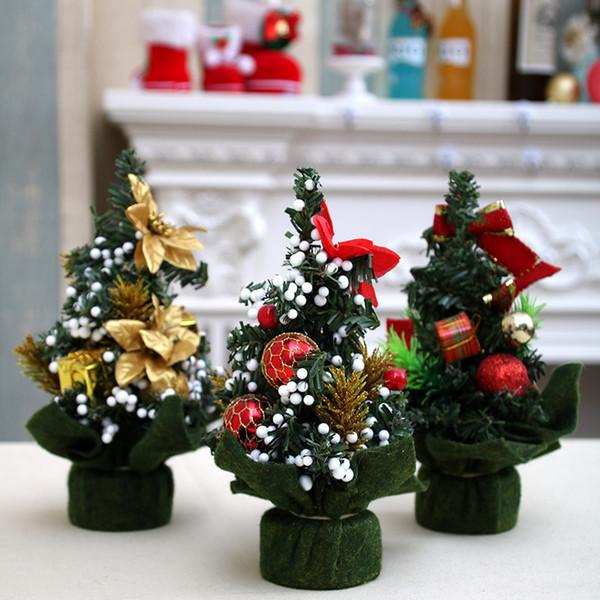 Mini Christmas Tree Decoration Christmas Tree Christmas Day