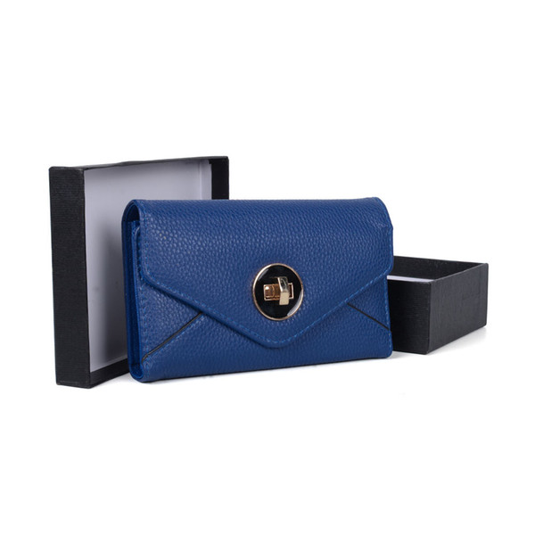 Mini Casual Lady Clutch Bag Wallets Holders Gift Box Women Dress Hasp Fashion Phone Bag Credit Card Package VKP1492