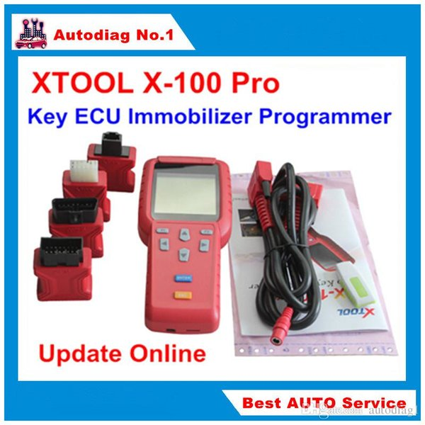 Original XTOOL X-100 Pro X100 Auto Key Programmer X 100 For Vehicle ECU Immobilizer PINCODE Programming Tool Update Online