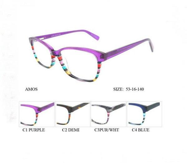 Compre 2016 Italia Gafas De Diseño Óptico De Las Mujeres Marco ...