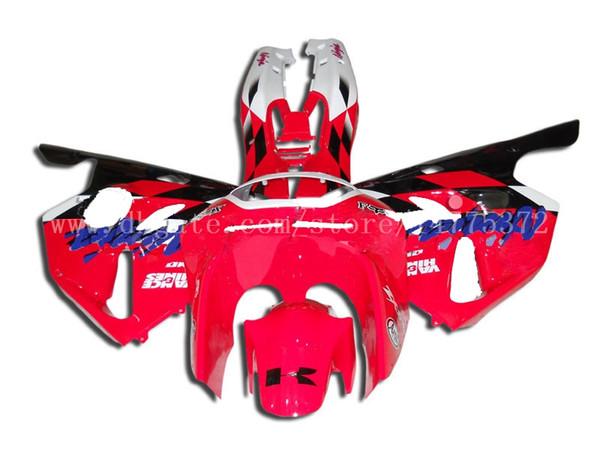 ZX 6R fairings for Kawasaki NINJA ZX 6R 94 95 96 97 ZX-6R 94-97 ZX6R 1994-1997 ZX6R 1994 1995 1996 1997 fairing kit #l27v6 Red