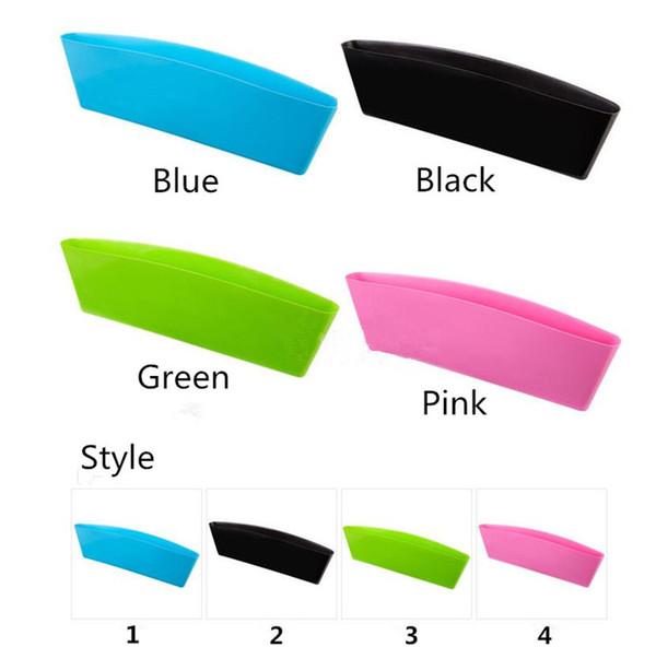 4 colori Car storage Bag Box Seat Pocket Car Seat Catcher Stow Tidying Pocket Bags Contenitore di immagazzinaggio di auto box Car Organizer A0159