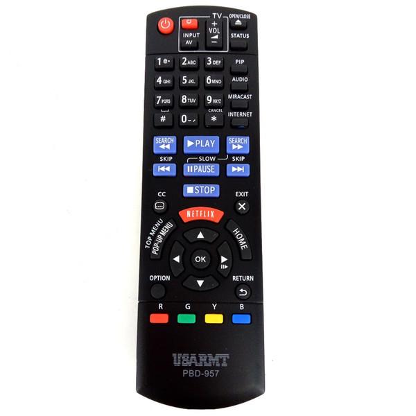 Vente en gros- Télécommande pour BLU-RAY DVD PLAYER Télécommande PBD-957 PBD957 pour Panasonic Player DMP-BD75 DMP-BD755 Fernbedienung