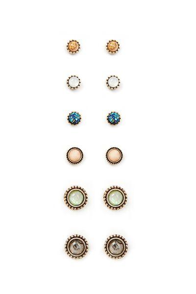 Orecchini a forma di perline in cristallo perline a forma di fiore di elefante