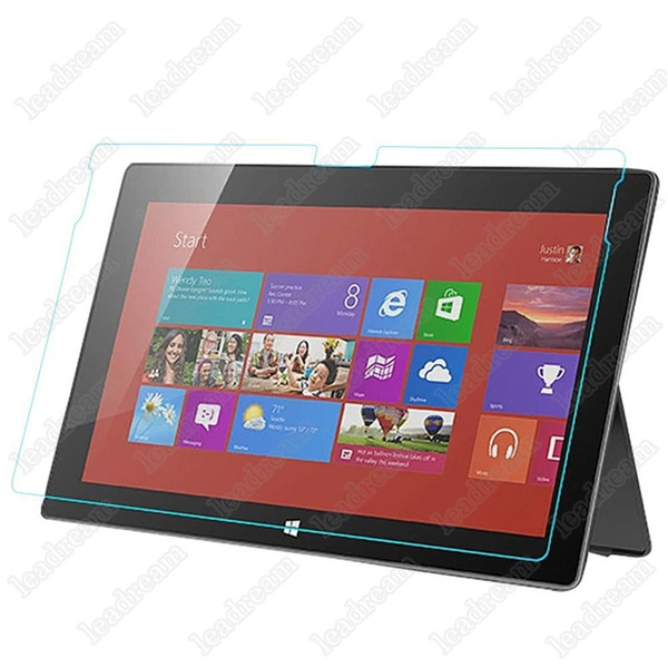 Explosion Proof 9H 0.3mm Screen Protector Tempered Glass for Microsoft Surface Book Surface Pro 2 Pro 3 4 No Package
