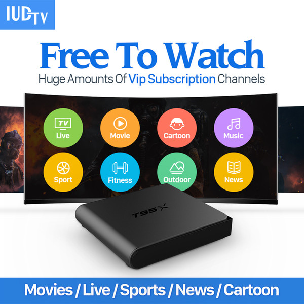 T95X Arabic Europe IPTV Box Android TV Box IPTV Receiver & 1300+ French  Turkish Netherlands Channels Better Than MXV Android TV Bo Tv Box Reviews  Tv