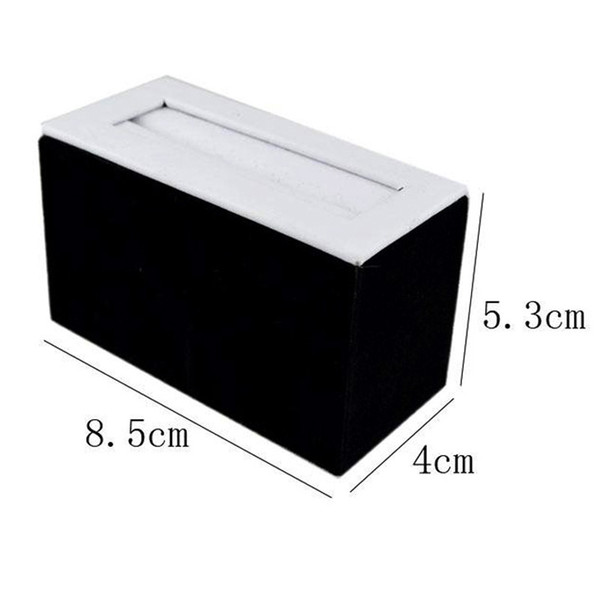 2017 New Jewelry DisplayWholesale Promotion Jewelry Display Bangle Tower Dou-Ring Tower Jade Bracelet Display Ring Stand Holder Cases