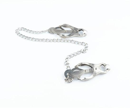 Stainless Steel Slut Nipple Clamps Clips BDSM Bondage Gear Torture Adult Heavy Sexual Play Games Sex Toys for Women Men Couples XLFNC001H