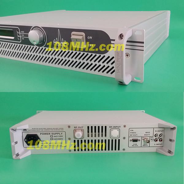 80 W 87,5-MHz-108-MHz-LCD-PLL-Mono- / Stereoradio UKW-Sender des Senders