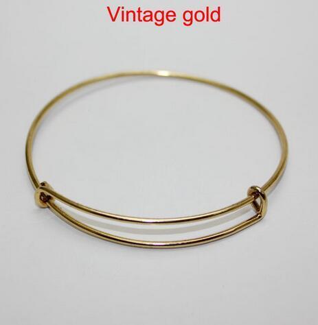 65mm vintage gold