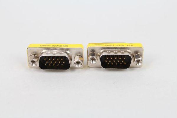 VGA15 a 15 pin macho para el público en el puerto serie de conexión Conector VGA para dispositivo de puerto serie de impresora de escáner de proyección host