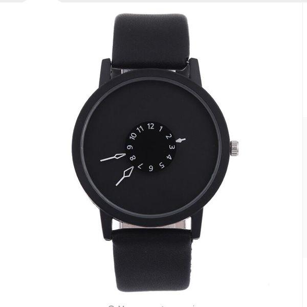 2017 Unisex Luxury Watches Roman Number Watch Leather Bracelet Quartz Watch Fashion Mens Women Sports Cystal Watches