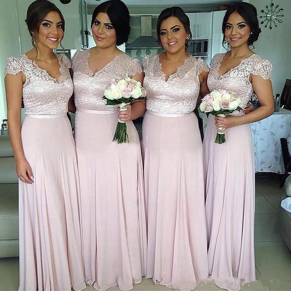 Kleider brautjungfern rosa